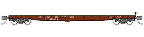 WheelsOfTime 53'6' General Service Fish Belly Flatcar SP 8 pack N Scale Model Train Freight Car #50101