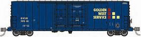 WheelsOfTime PC&F 50 70-Ton RBL Insulated Double Plug-Door Boxcar N Scale Model Train Freight Car #61036
