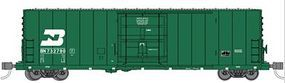 WheelsOfTime PC&F 50 70-Ton XLI Insulated Plug-Door Boxcar BN N Scale Model Train Freight Car #61051