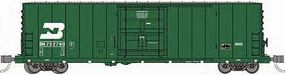WheelsOfTime PC&F 50 70-Ton XLI Insulated Plug-Door Boxcar BN N Scale Model Train Freight Car #61054