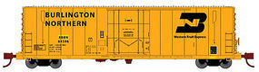 WheelsOfTime 50 70 Ton Boxcar Burlington Northern #64535 N Scale Model Train Freight Car #61076