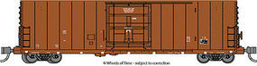 WheelsOfTime PC&F 50 Boxcar Undecorated N Scale Model Train Freight Car #61110