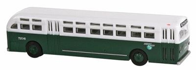 WheelsOfTime Transit Motor Coach Chicago Transit Authority 7206 N Scale Model Railroad Vehicle #90141