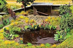 Walthers-Acc Water Plants Kit Botanicals(TM) Kit HO Scale Model Railroad Grass #1092