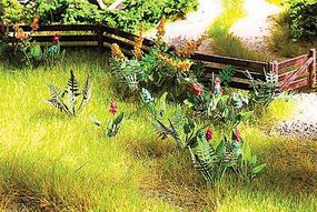 Walthers-Acc Wild Flowers Kit Botanicals(TM) HO Scale Model Railroad Grass Earth #1094