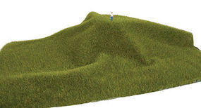 Walthers-Acc Tear and Plant Grass Mats Mossy Grass Short Model Railroad Grass Mat #1120