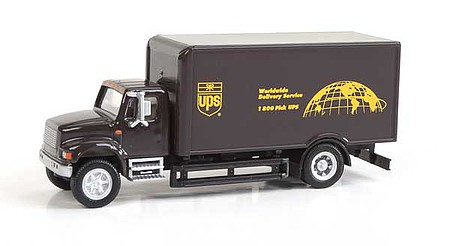 Walthers-Acc International(R) 4900 Single-Axle Box Van - Assembled United Parcel Service Bow Tie Shield Logo