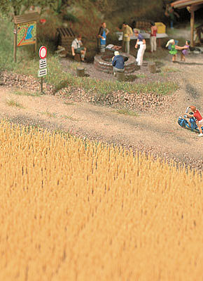 Walthers-Acc Harvest Wheat Field (Brown) Kit (Covers 15 Square Inches) Model Railroad Grass Earth #1143