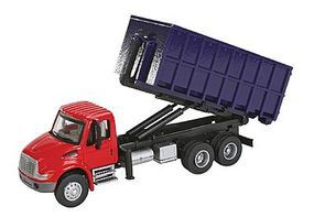 Walthers-Acc Intl 4300 Dumpster Truck - HO-Scale