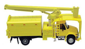 Walthers-Acc International(R) 4300 2-Axle Truck with Tree Trimmer Body - Assembled Yellow