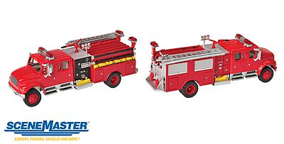 Walthers Accessories Intl 4900 Fire Engine Red - HO-Scale