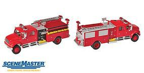 Walthers-Acc Intl 4900 Fire Engine Red HO-Scale