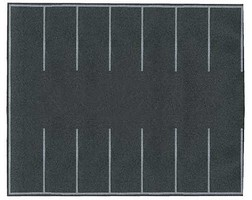 Walthers-Acc Flexible Self-Adhesive Paved Parking Lot 7-7/8 x 6-3/16''  20 x 16cm
