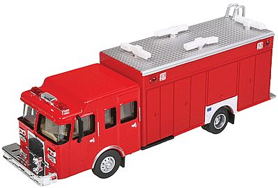 Walthers Accessories Haz-Mat Fire Truck - HO-Scale