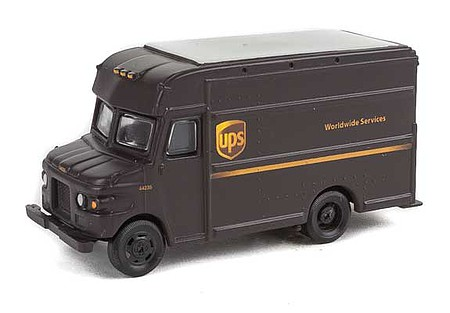 Walthers-Acc UPS Package Car United Parcel Service Modern Shield Logo