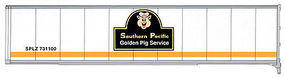 Walthers-Acc 45 Stoughton Trailer 2-Pack Southern Pacific(TM) HO Scale Model Train Freight Car Load #2210