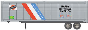 Walthers-Acc 40 Trailer 2-Pack - Assembled Chicago & North Western