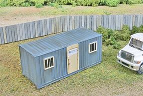 Walthers-Acc Mobile Cnstrctn Office - HO-Scale