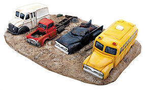 Walthers-Acc Junk Truck Row 1-Piece Casting