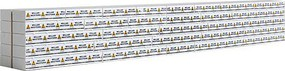 Walthers-Acc Wrapped Lumber Load for WalthersMainline 72 Centerbeam Flatcar Millar Western