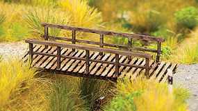 Walthers-Acc Foot Bridge Laser-Cut Kit HO Scale Model Railroad Accessories #4128