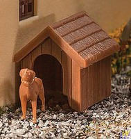 Walthers-Acc Dog & Kennel (Doghouse) Kit