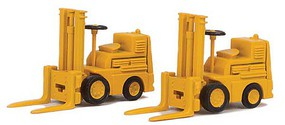 Walthers-Acc Forklift 2-Pack - Assembled Yellow