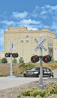 Walthers-Acc Crossing Flashers w/Relay Box Set of 2 Working Signals (Use with #949-4359, Sold Separately)