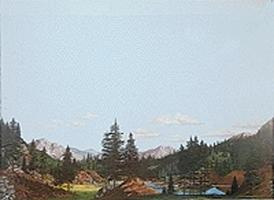 Walthers-Acc Tall Timber Background Scene 24'' x 36'' Model Railroad Scenery Supply #702