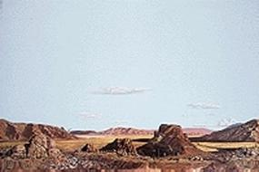 Walthers-Acc Drywash Desert Background Scene 24 x 36 Model Railroad Scenery Supply #705