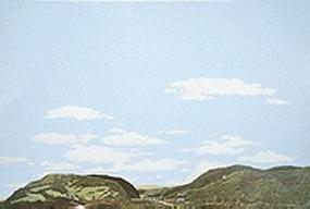 Walthers-Acc Country to Eastern Foothills Background Scene 24'' x 36'' Model Railroad Scenery Supply #714