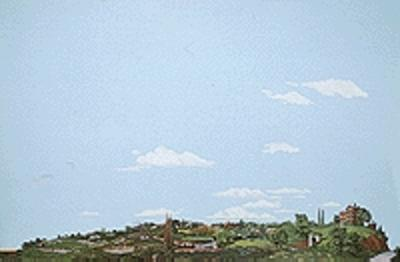 Walthers Accessories Background Scene 24 x 36'' 60 x 90cm - Instant Horizons(TM) -- Country to City - HO-Scale