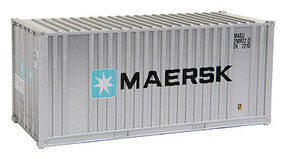 Walthers-Acc 20 Container MAERSK HO Scale Model Train Freight Car Load #8001