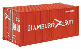 Walthers-Acc 20' Container Hamburg HO Scale Model Train Freight Car Load #8006