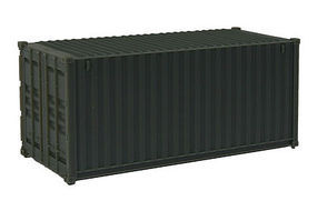 Walthers-Acc 20 RS Container Undecorated HO Scale Model Train Freight Car Load #8050