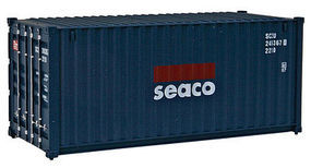 Walthers-Acc 20 RS Container Seaco HO Scale Model Train Freight Car Load #8054