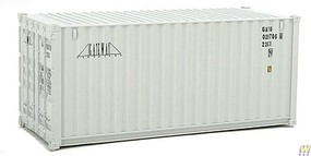 Walthers-Acc 20 Corrugated Container - Assembled Gateway (gray)