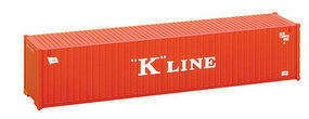 Walthers-Acc 40 RS Container K-Line HO Scale Model Train Freight Car Load #8153