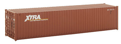 Walthers Accessories 40' RS Container XTRA -- HO Scale Model Train Freight Car Load -- #8154