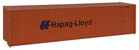Walthers-Acc 40 HC Container Hapag-Loyd HO Scale Model Train Freight Car Load #8204