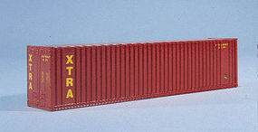 Walthers-Acc 40 HC Container XTRA HO Scale Model Train Freight Car Load #8209