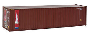 Walthers-Acc 40 Hi-Cu Container Trasnamer HO Scale Model Train Freight Car Load #8210