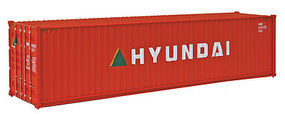 Walthers-Acc 40 HC RS Container Hyundai HO Scale Model Train Freight Car Load #8253