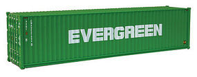 Walthers-Acc 40 HC RS Container Evergreen HO Scale Model Train Freight Car Load #8258
