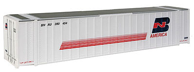 Walthers Accessories 48' RS Container BN America -- HO Scale Model Train Freight Car Load -- #8457