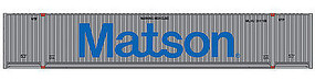 Walthers-Acc 53 Singamas Container Matson HO Scale Model Train Freight Car Load #8516