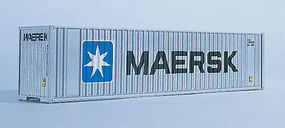 Walthers-Acc 40' HC Container MAERSK N Scale Model Train Freight Car Load #8801