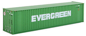 Walthers-Acc 40' HC Container Evergree N Scale Model Train Freight Car Load #8802