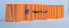 Walthers-Acc 40' HC Container Hapag-Lloyd N Scale Model Train Freight Car Load #8804
