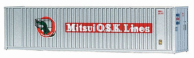 Walthers Accessories 40' HC Container MITUSI -- N Scale Model Train Freight Car Load -- #8805